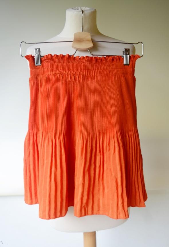 Spódnice Spódniczka Pomarańczowa H&M S 36 Rozkloszowana