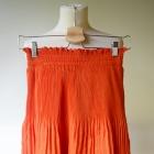 Spódniczka Pomarańczowa H&M S 36 Rozkloszowana