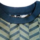 Prosta sukienka tunika żakardowy wzór r 40 lub 42