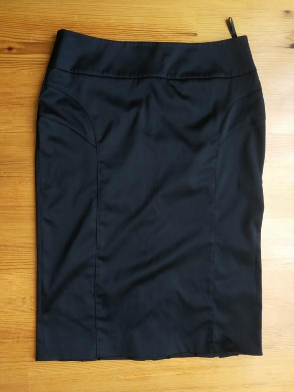 Spódnice Elegancka czarna ołówkowa spodnica