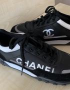 Chanel logowane buty adidasy czarne Unikatowe...