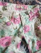 Pastelowe spodnie M...