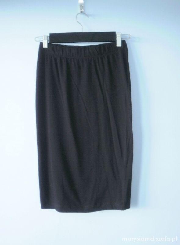 Spódnice Top secret nowa czarna spódnica midi bodycon