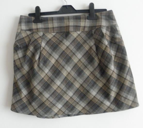 Spódnice Śliczna mini spódnica w kratę H&M