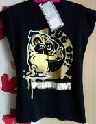 Koszulka Pug off 36 psia krew