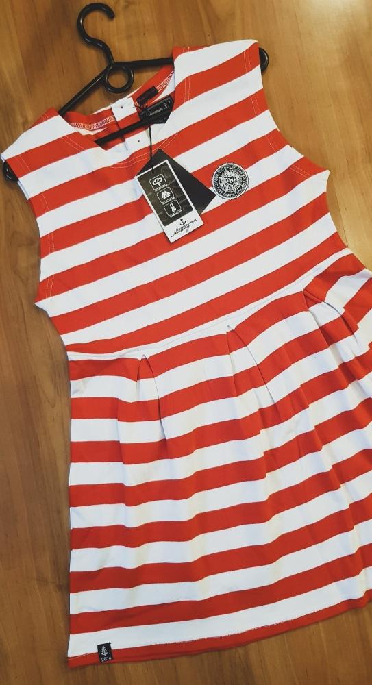 Suknie i sukienki Geo Norway Jesmeralda Sukienka w Paski