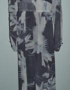 Sukienka szara długa...