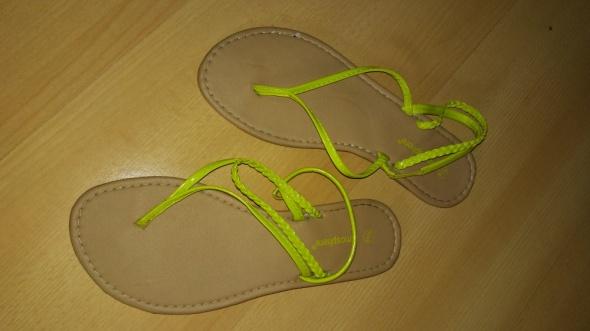 Sandały Neonowe sandały