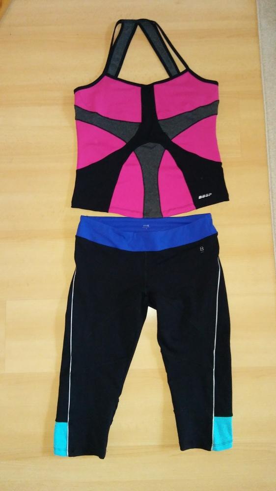 Zestaw treningowy bluzka spodnie