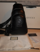 Gucci Plecak Worek Torebka torba skóra Włochy