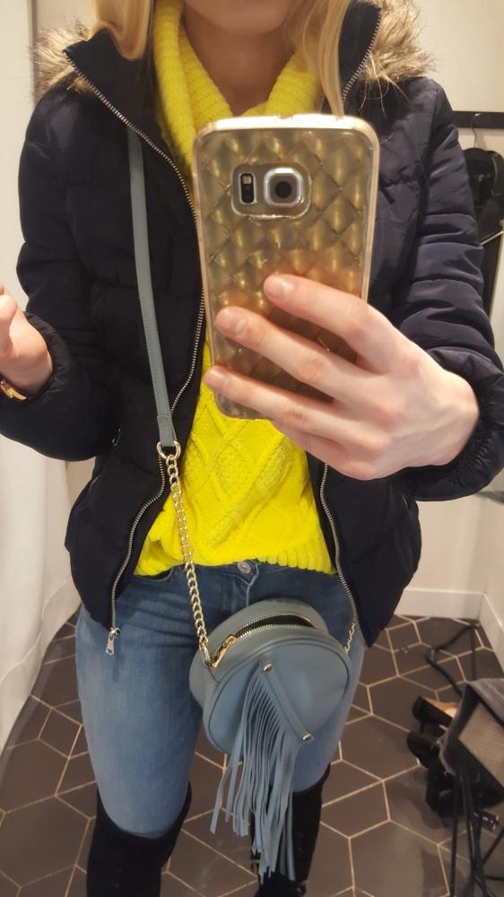 Krótka kurtka H&M rozmiar 34...