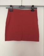H&M krótka spódniczka mini ceglasta czerwona...
