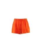 Szorty H&M luźne koral pomarańcz oversize S...