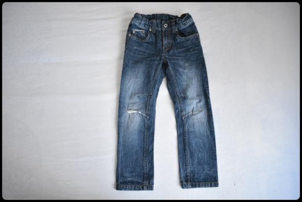 Spodnie jeansowe dla chłopca rozmiar 116 stan bardzo dobry...