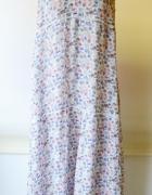 Sukienka Long Kwiaty H&M Logg XL 42 Kwiatki Długa...