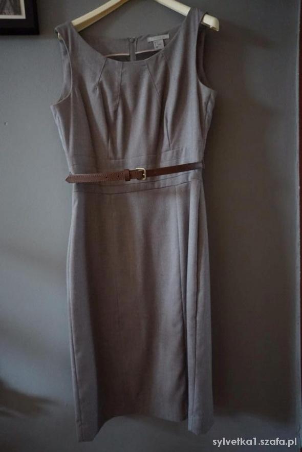 Klasyczna sukienka H&M roz S 36
