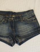 Krótkie spodenki jeansowe 36 Denim CO...