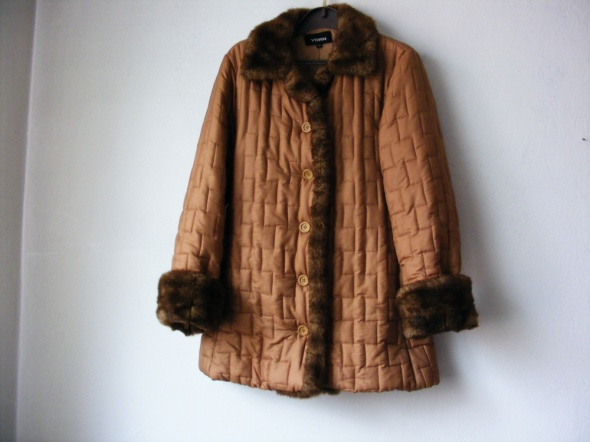 Kurtka beżowa zimowa YORN R 38 40