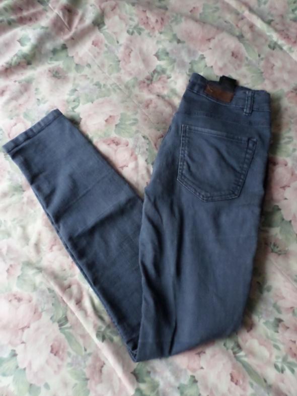spodnie jeansy rurki H&M XS 34