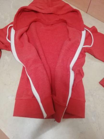 Bluza ocieplna z HM z kapturem