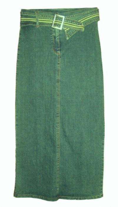 Spódnice Maxi ołówkowa z jeansu r 3638