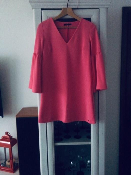 Suknie i sukienki Sukienka różowa Mohito