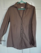 Orsay beżowa koszula M albo L