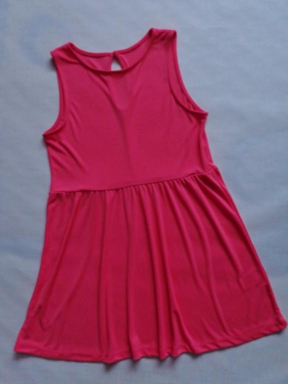 Suknie i sukienki H&M koralowa sukienka 38 40