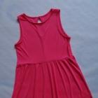 H&M koralowa sukienka 38 40