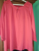 Koralowa bluzka H&M