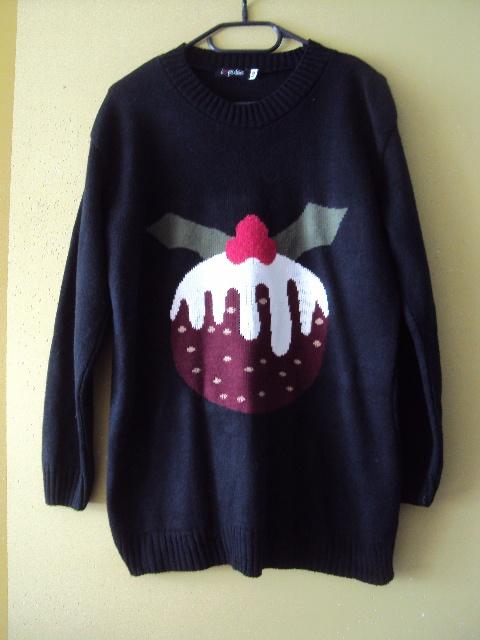 słodki sweterek z mafinkiem