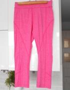 NY Athletics nowe legginsy różowe sportowe pink neon neonowe...