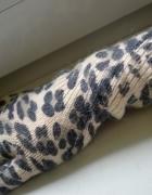 Nowe długie rękawiczki w panterkę H&M