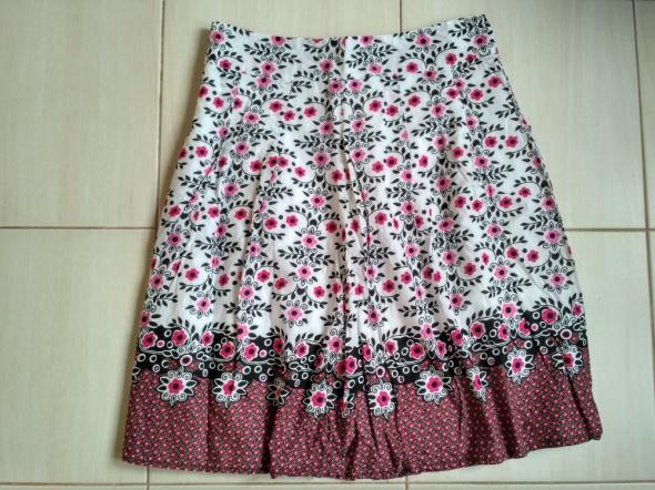 Spódnice folk spódnica w kwiaty 38