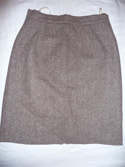 Spódnice Tweedowy ołówek