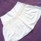 Letnia krótka spódniczka z haftem Pretty Girl M 38