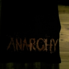 Czarna koszulka Anarchy punk emo