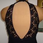 LIAISON elegancka sukienka tuba koronka 40 42