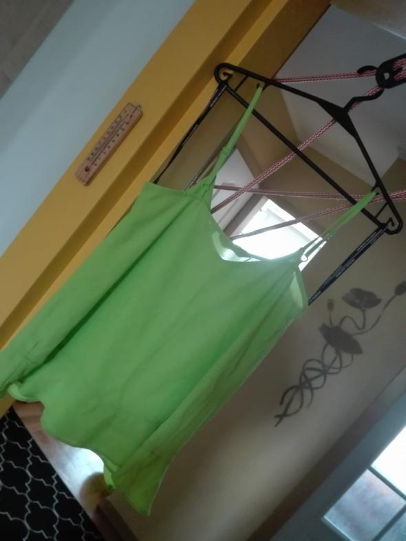 Bluzki Limonkowa bluzka Dorothy Perkins