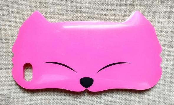 Obudowy i etui Nowe etui case iPhone 4 4S silikon silikonowe kot