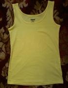 Nowa koszulka damska żółta uniwersalny