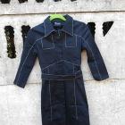Płaszcz XS S długi Top Secret wiosna jesień