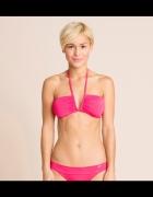 Nowe bikini fuksja różowe kostium kąpielowy XL XXL