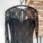 Mała czarna sukienka koronka 36 S Top Secret