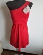 Czerwona sukienka Bonprix XS