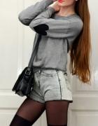 Jansowe szorty marmurki blogerskie
