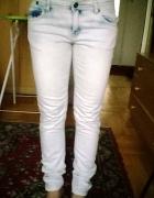 jasne jeansy 170 cm
