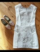 Sukienka beżowa River Island XS 34 6