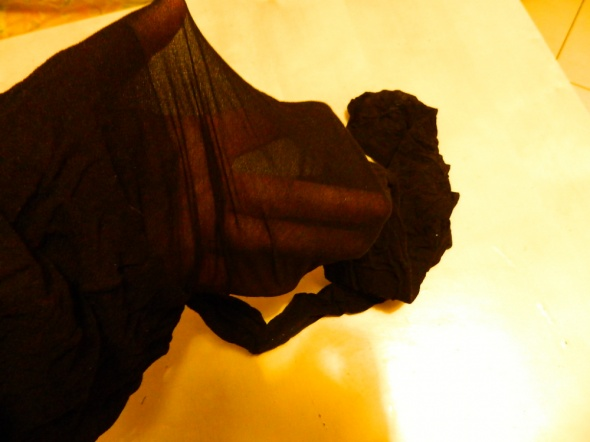 Rajstopy, pończochy czarne rajstopy używane