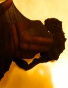 czarne rajstopy używane...